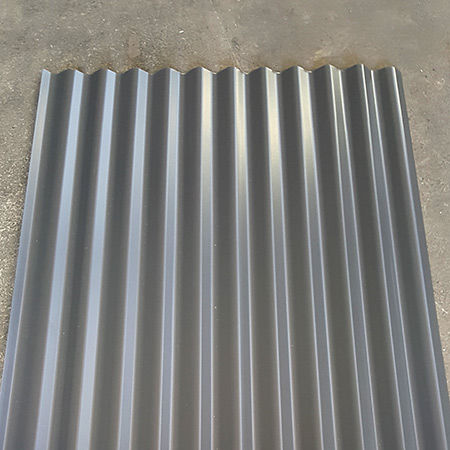 Corrugated sample silbery roofing longrun roofing manufacturer roofing repair